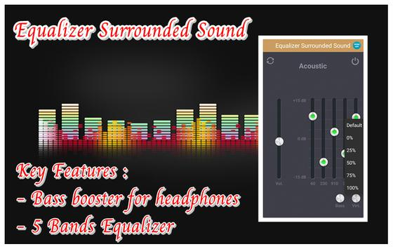 Equalizer Surrounded Sound screenshot 3