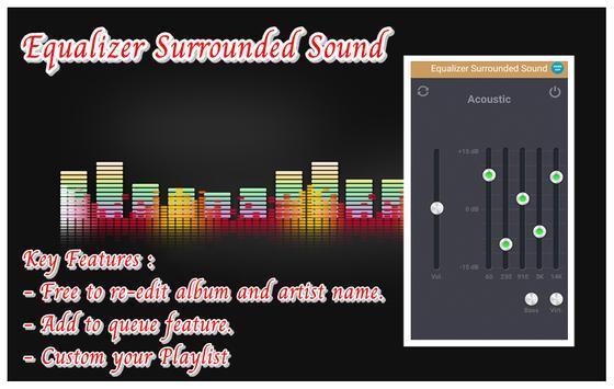 Equalizer Surrounded Sound screenshot 1