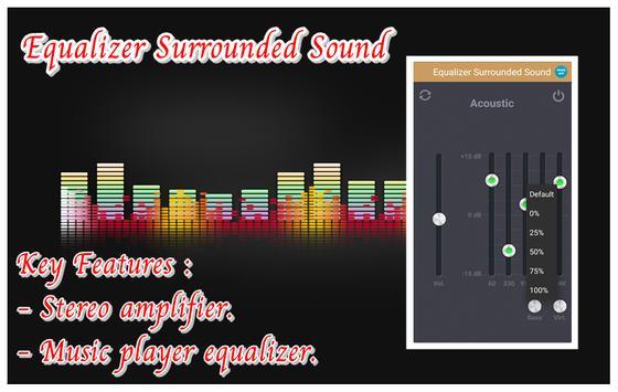 Equalizer Surrounded Sound screenshot 2