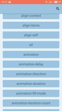 CSS Reference screenshot 1