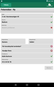 Skövdebostäder Mina sidor screenshot 4