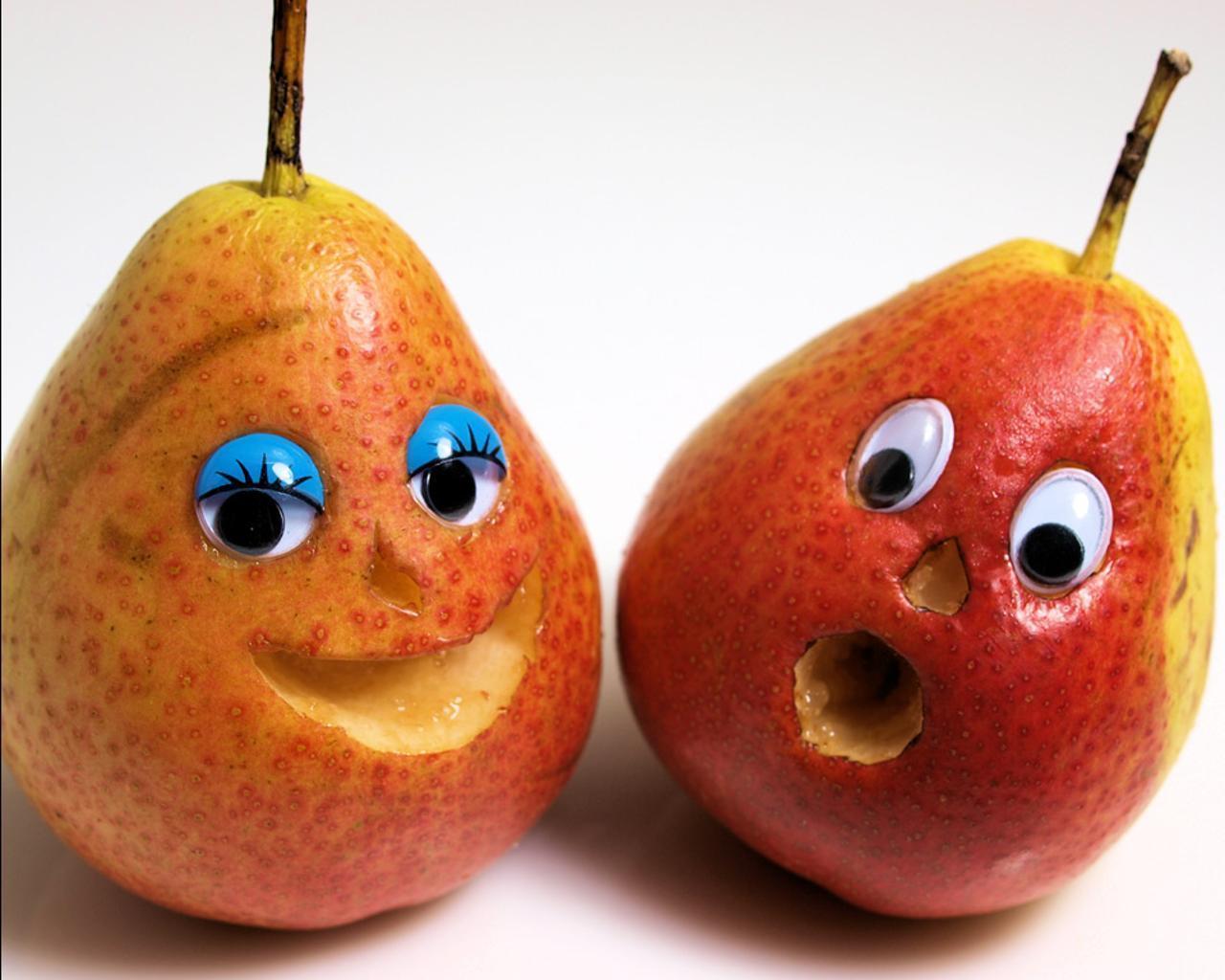 Днем, прикольные картинки фрукты овощи