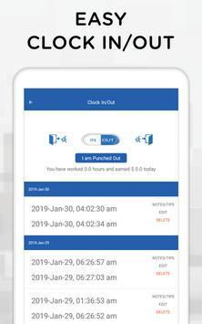 iTimePunch Plus Work Hour Tracker & Time Clock App screenshot 10