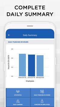 iTimePunch Plus Work Hour Tracker & Time Clock App screenshot 7