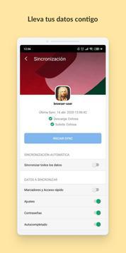 Vivaldi captura de pantalla 2