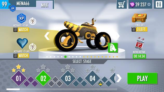 Gravity Rider Zero screenshot 2