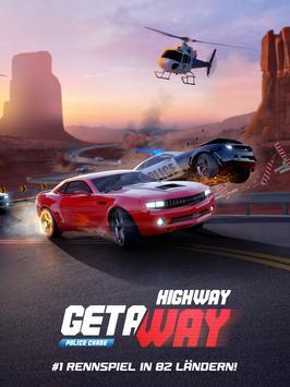 Highway Getaway Polizei Rennen Screenshot 6