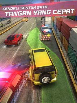 Highway Getaway - Mobil balap screenshot 15