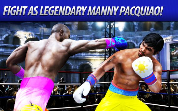 Real Boxing Manny Pacquiao poster