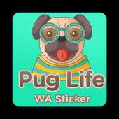 Pug Life Sticker icon