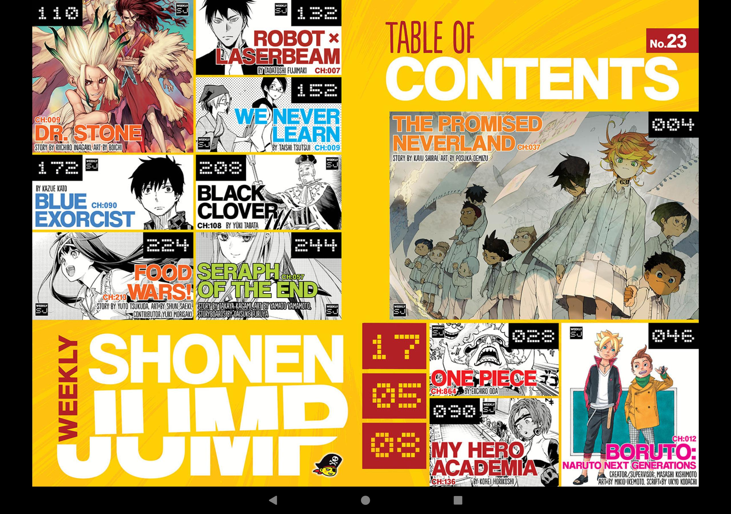 Shonen Jump for Android - APK Download