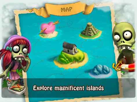 Zombie Castaways screenshot 2