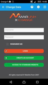 XChange Data Plakat