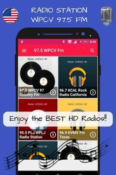 97.5 WPCV 97 Country Fm Florida Radio Stations HD screenshot 10