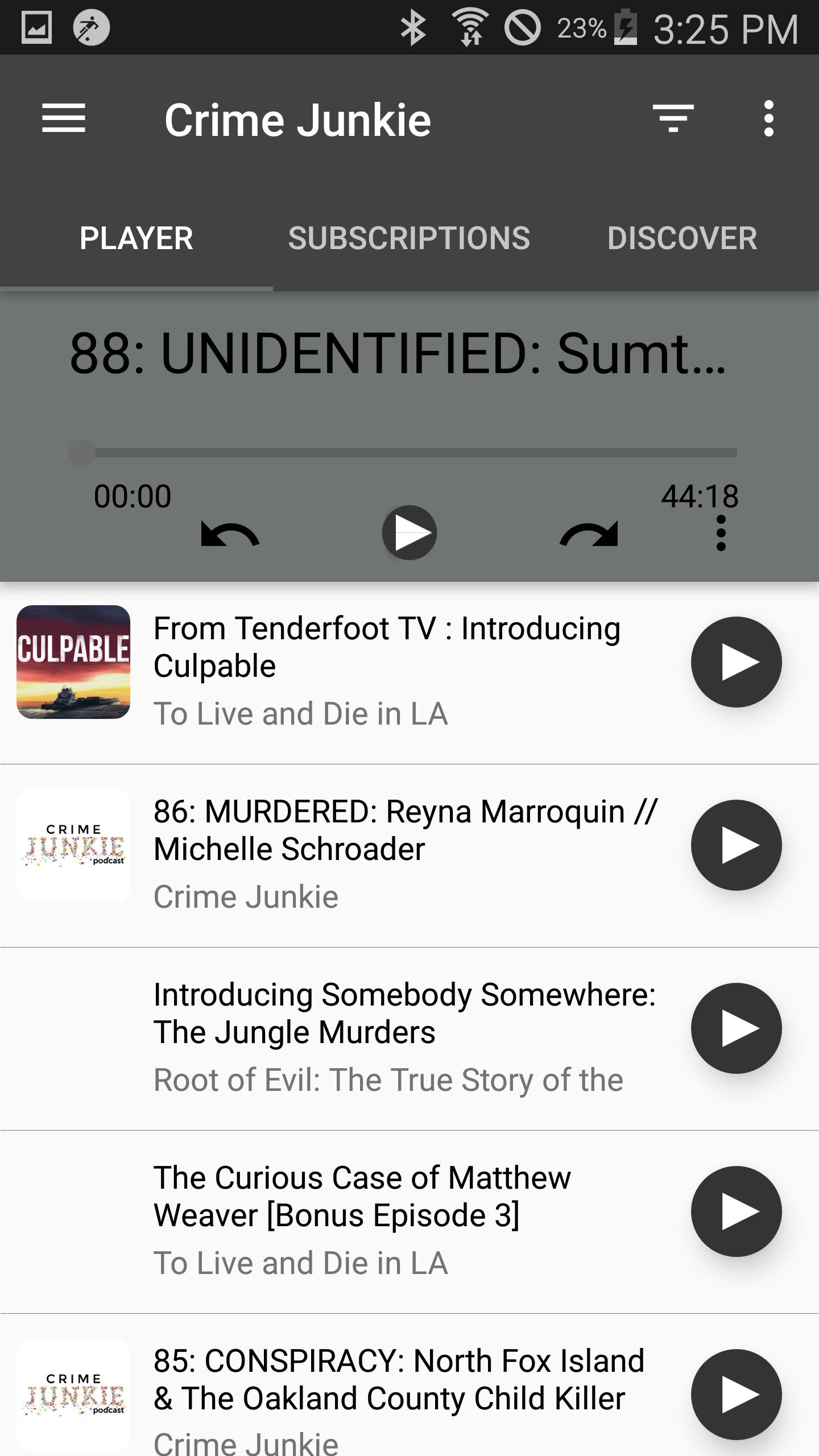 Crime Junkie: True Crime Podcasts for Android - APK Download