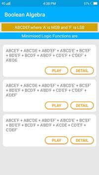 Boolean Algebra | Kmap solver | function minimizer screenshot 3