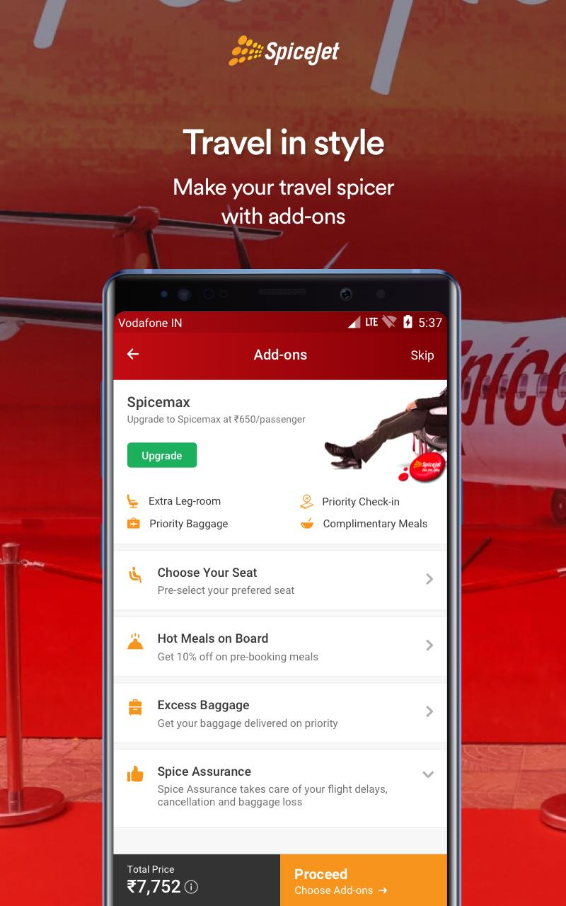 SpiceJet for Android - APK Download