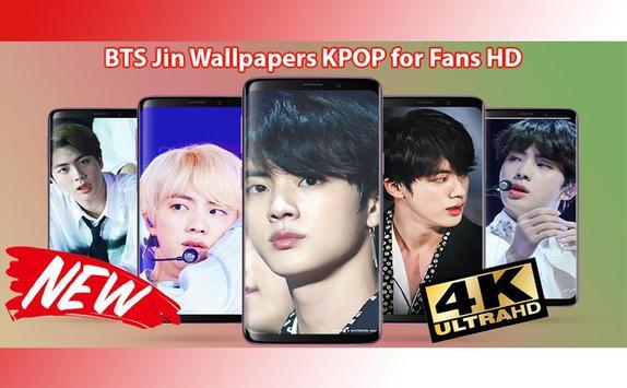 BTS Jin Wallpapers KPOP for Fans HD screenshot 7
