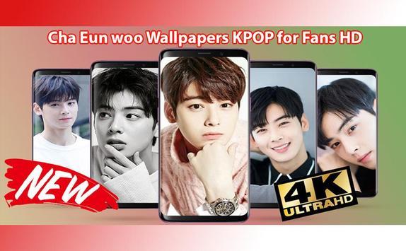 Cha Eun woo Wallpapers KPOP for Fans HD poster