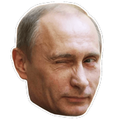 ikon Stickers de Putin
