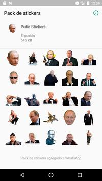 Stickers de Putin-poster