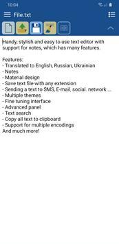 VLk Text Editor PRO ポスター