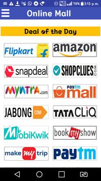 All in One Shopping App - Indian Online Mall 截图 1