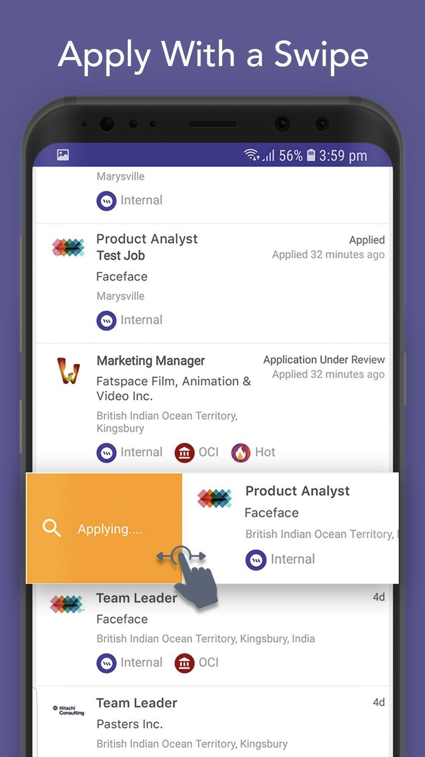 VMock Jobs - Smart Job Search for Android - APK Download