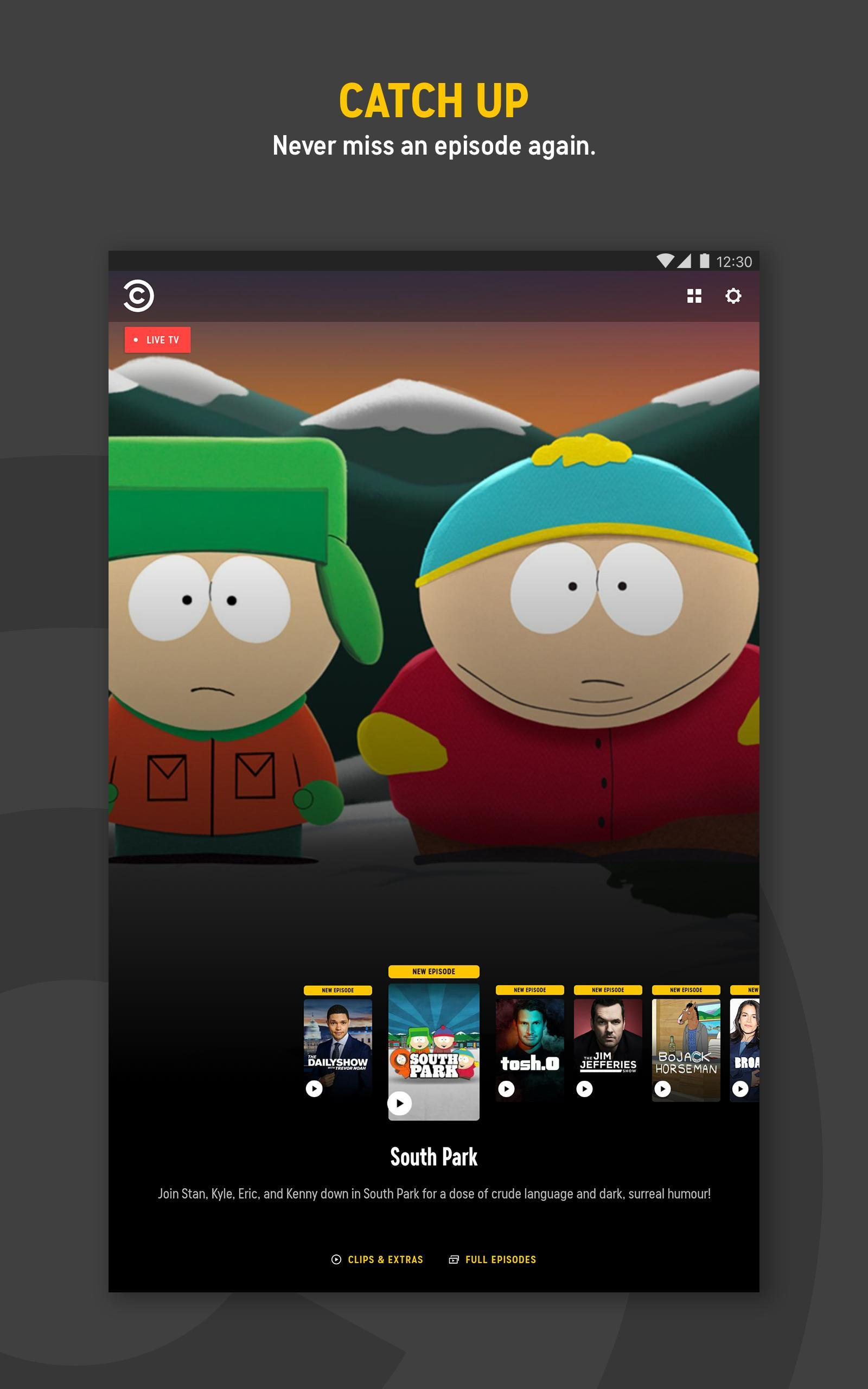 Comedy Central for Android - APK Download