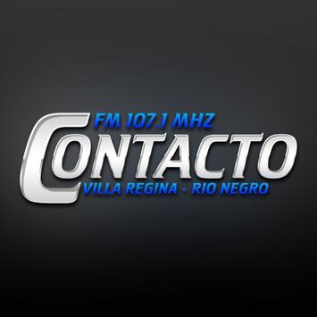 Fm Contacto Villa Regina poster
