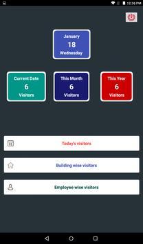 Visitors Management System screenshot 2