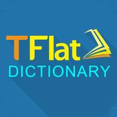 Tu Dien Anh Viet TFlat Offline biểu tượng