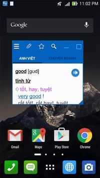 English Vietnamese Dictionary TFlat poster