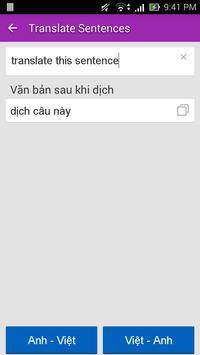 Tu Dien Anh Viet TFlat Offline ảnh chụp màn hình 3