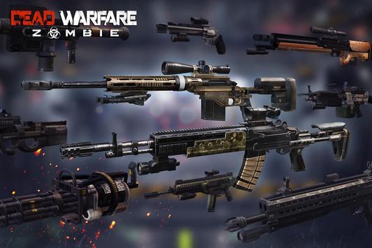 DEAD WARFARE: RPG Zombie Shooting - Gun Games poster