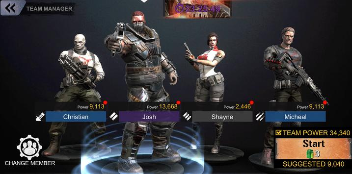 DEAD WARFARE: RPG Zombie Shooting - Gun Games screenshot 5