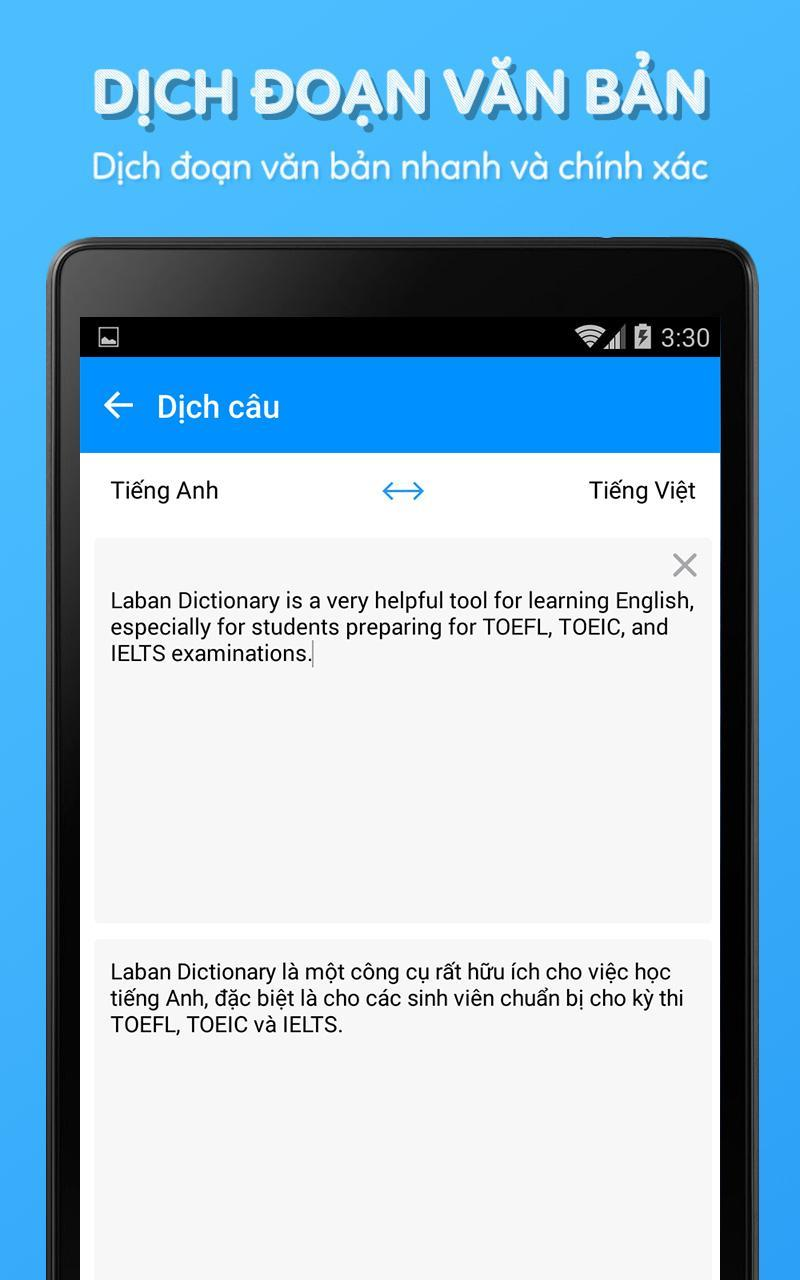 download tu dien anh viet cho android