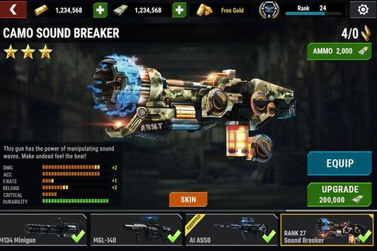ゾンビゲーム : DEAD TARGET - Zombie Shooting Games スクリーンショット 19