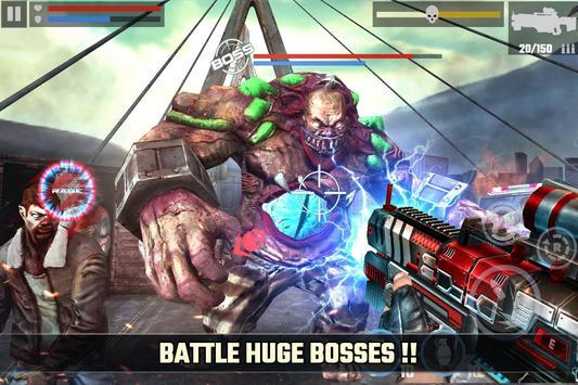 зомби апокалипсис игра: DEAD TARGET - ZOMBIE скриншот 1