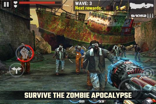 зомби апокалипсис игра: DEAD TARGET - ZOMBIE скриншот 2