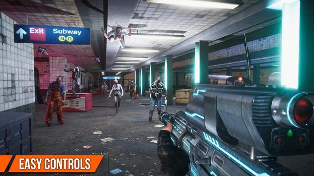 Game Offline: DEAD TARGET- Zombie Game Perang screenshot 2