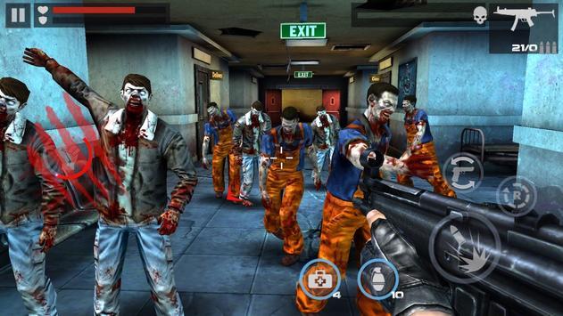 Game Offline: DEAD TARGET- Zombie Game Perang screenshot 7