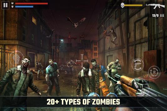 зомби апокалипсис игра: DEAD TARGET - ZOMBIE скриншот 4