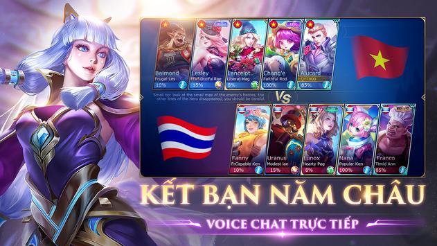 Mobile Legends: Bang Bang VNG स्क्रीनशॉट 2