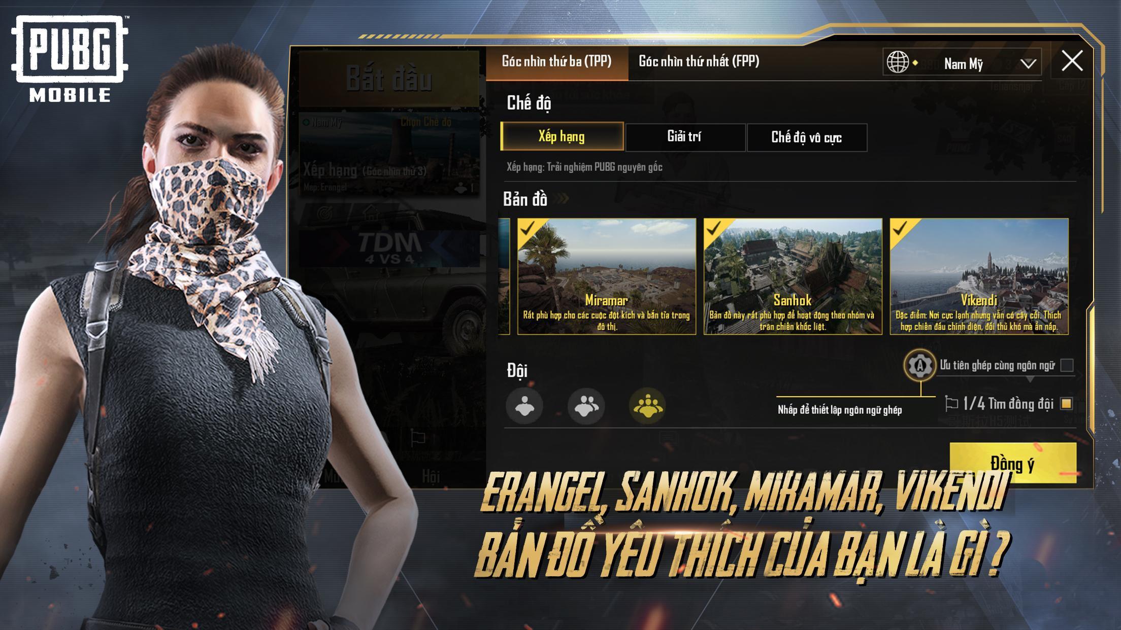 Download gam PUBG MOBILE
