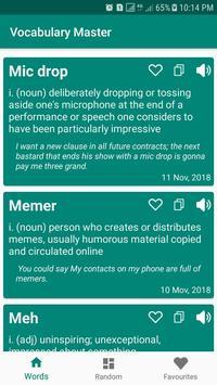 Vocabulary Master poster