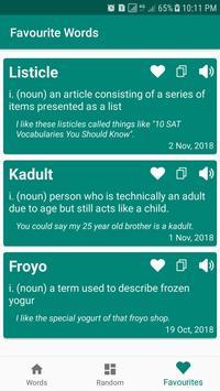 Vocabulary Master screenshot 1