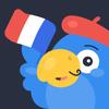 फ्लैशकार्ड के साथ फ्रेंच शब्दावली जानें - वोक ऐप आइकन
