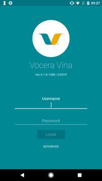Vocera Vina poster