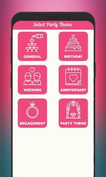 Invitation Card Maker screenshot 3